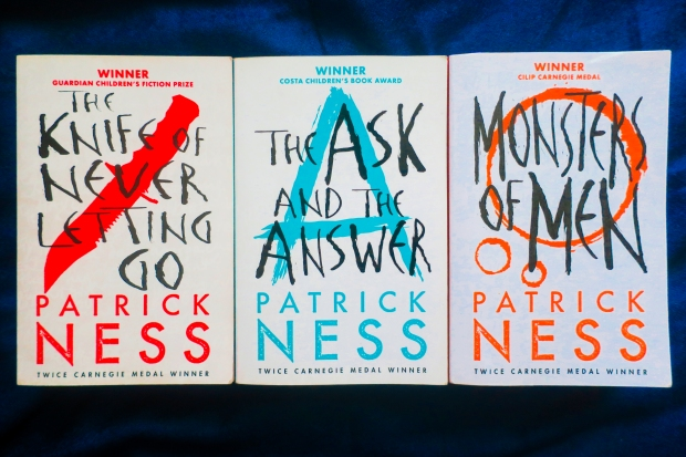 Chaos Walking trilogy by Patrick Ness - Bookbed