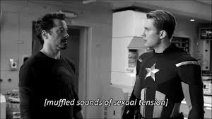 Sexual Tension GIF - Bookbed