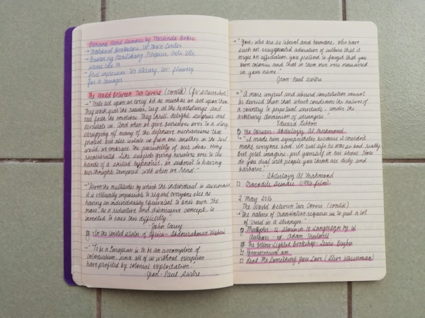 Book Journal 10 ~ Agnes Manalo - Bookbed