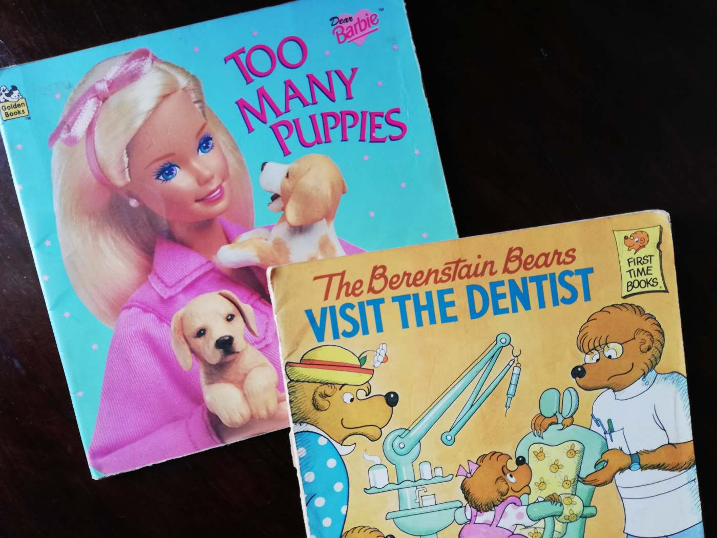 Childhood Reads - Barbie and Berenstein Bears - Bookbed