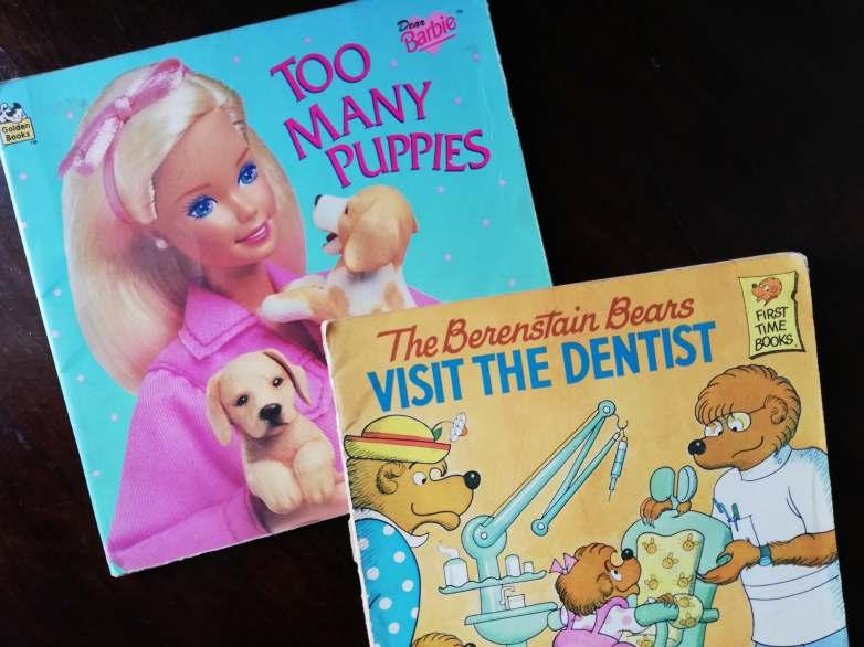 Childhood Reads - Barbie and Berenstein Bears - Bookbed