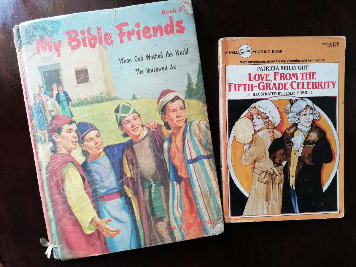Childhood Reads - Bible Stories, Love from the Fifth-Grade Celebrity - Bookbed