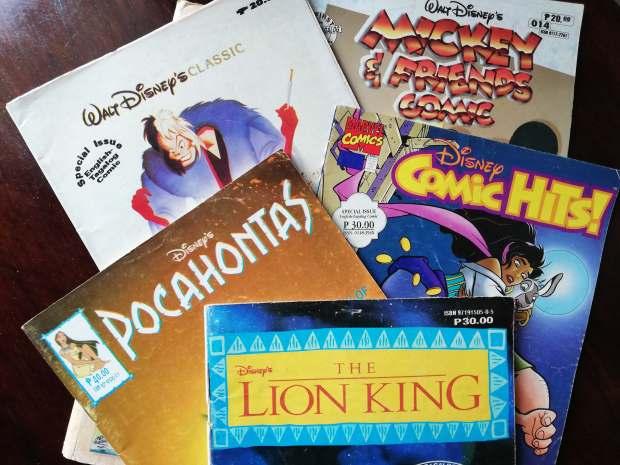 Childhood Reads - Disney Comics - Bookbed