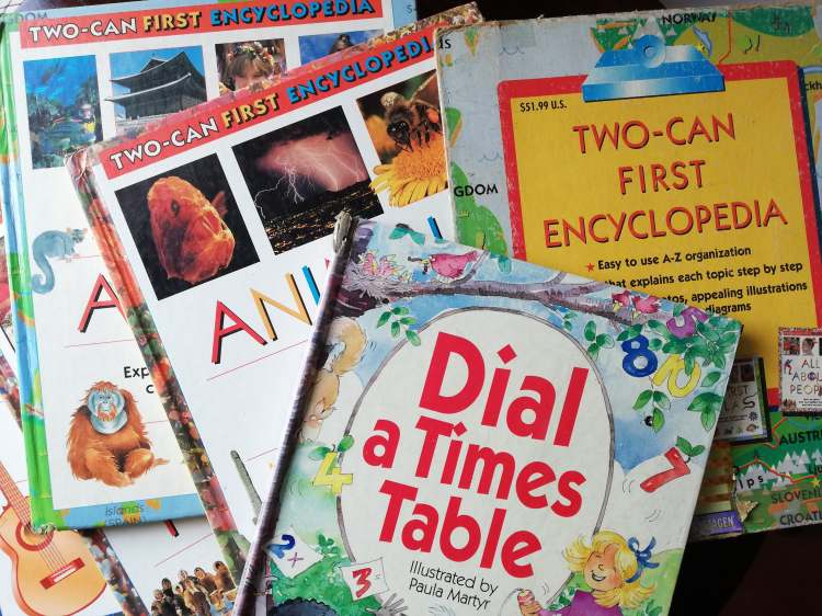 Childhood Reads - Encyclopedias - Bookbed