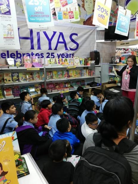Storytelling at Hiyas