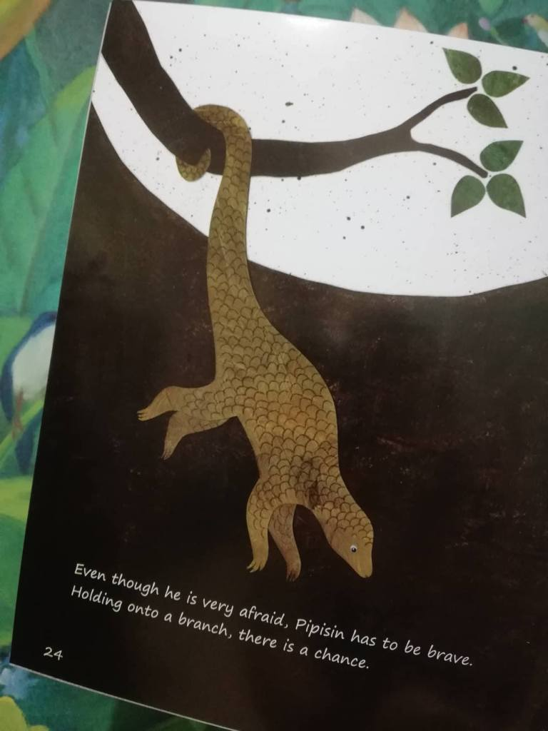 Pipisin the Pangolin by Rachel Shaw Inside Page - Bookbed