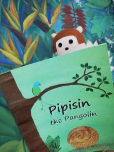Pipisin the Pangolin by Rachel Shaw with Bibi Mangki - Bookbed
