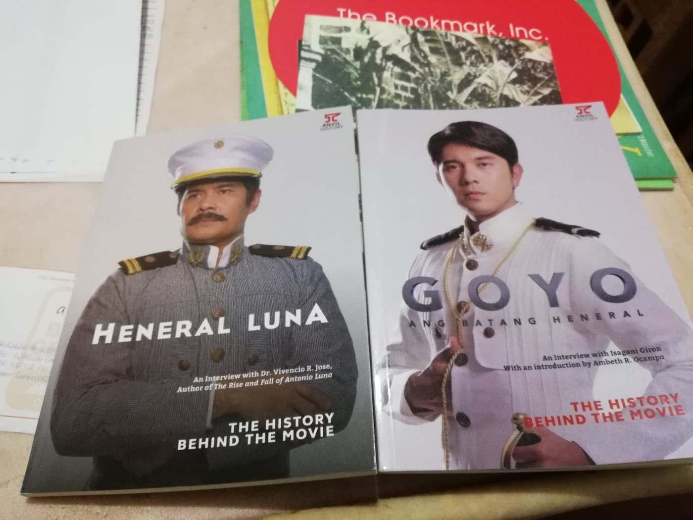 Heneral Luna Goyo Ang Batang Heneral - Anvil Publishing - Bookbed