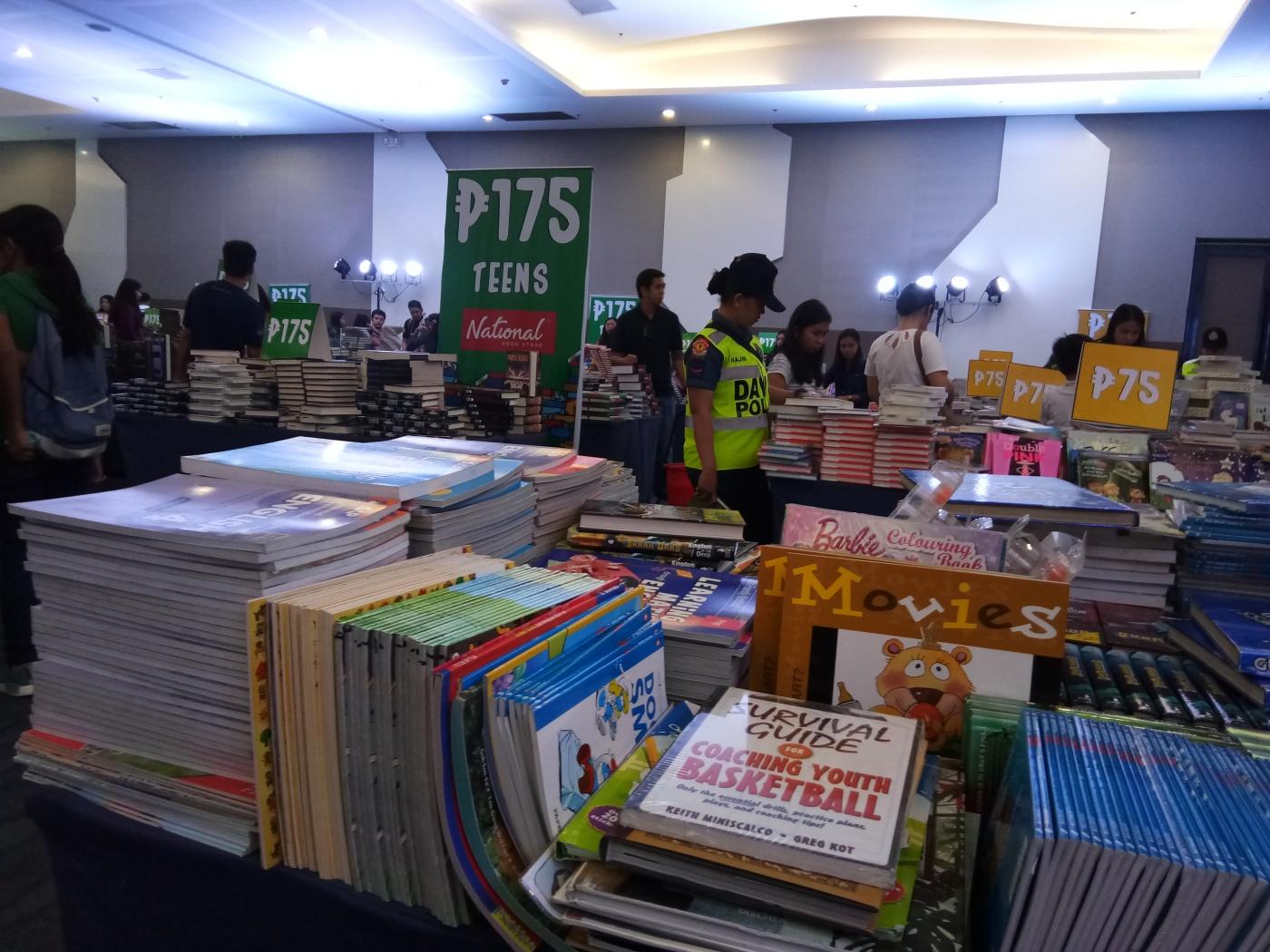 NBS Book Binge Bazaar 1 - Bookbed