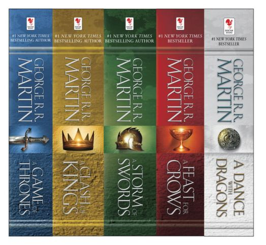 A Song of Ice and Fire by George RR Martin - Bookbed