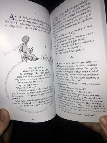 el diutay principe by jerome herrera - chavacano translation of the little prince - inside pages - bookbed