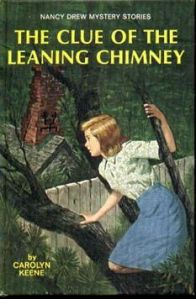 nancy drew the clue of the leaning chimney by carolyn keene - bookbed