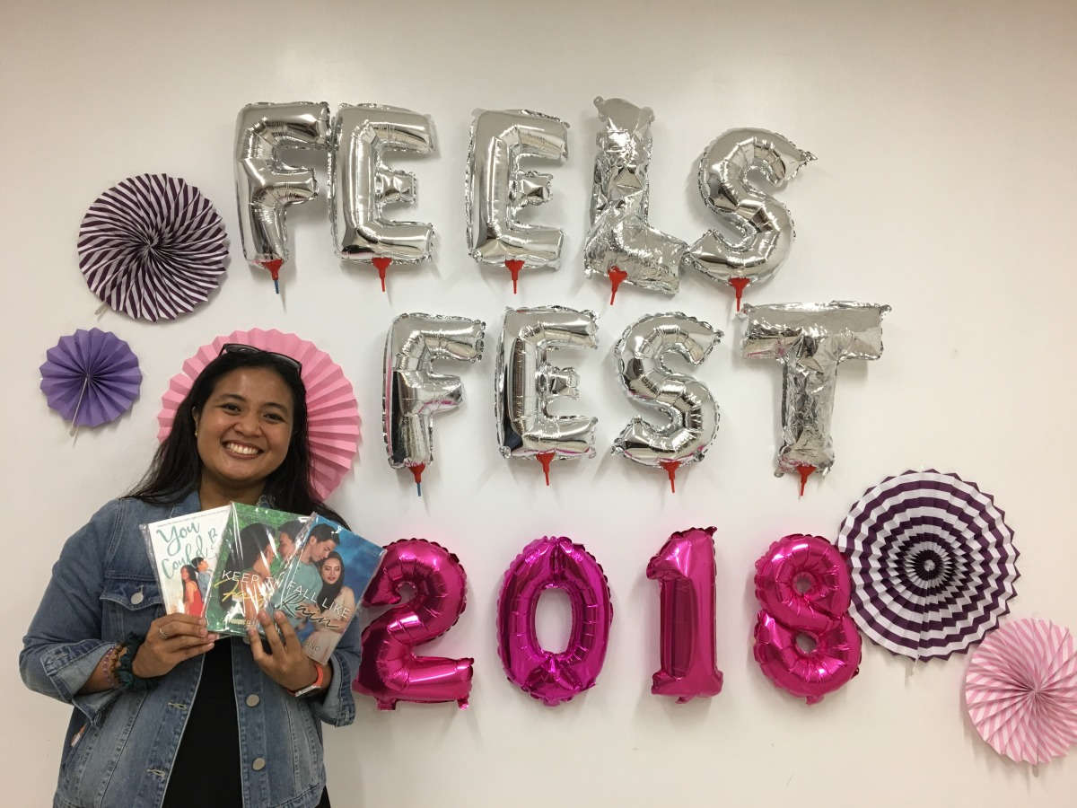 Ana Tejano #FeelsFest 2018 - Bookbed