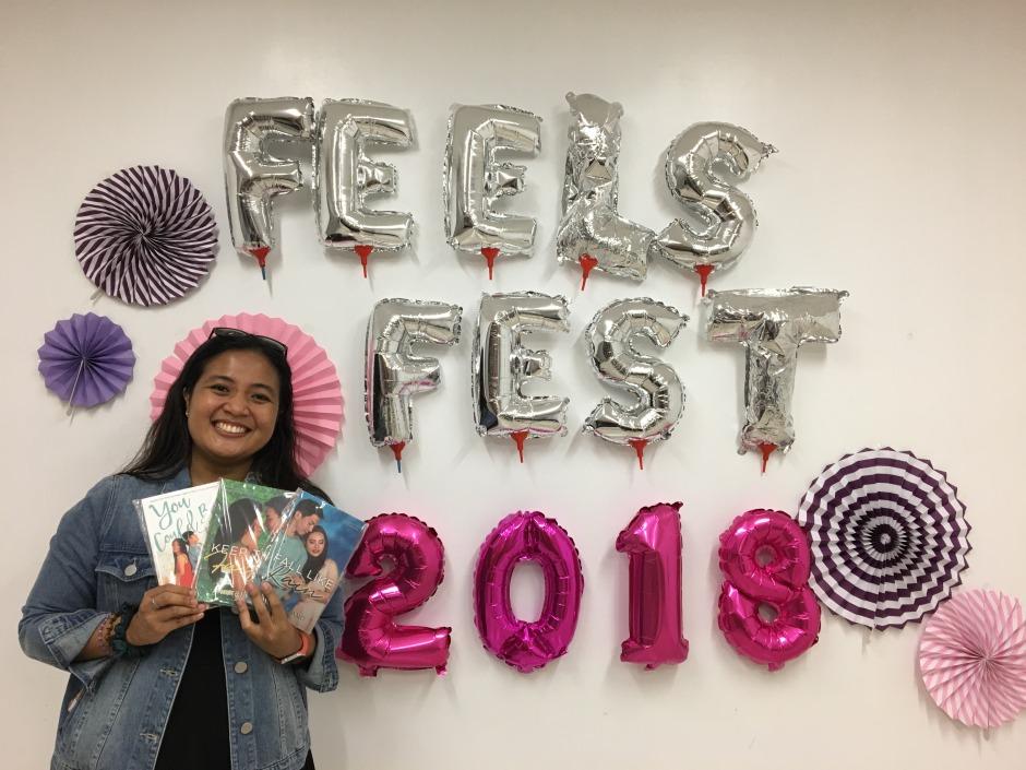 Ana Tejano #FeelsFest 2018 - Bookbed