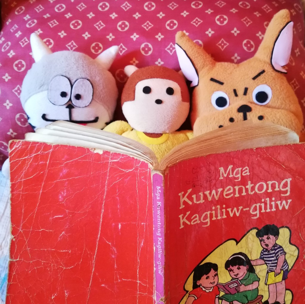 L-R: Fella The Cat, Bibi Mangki, Sonny D Dog